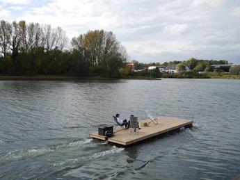 Varen met de Nauticlift pontonboot