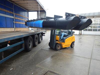 Drijvers pontonboot 40x600 cm